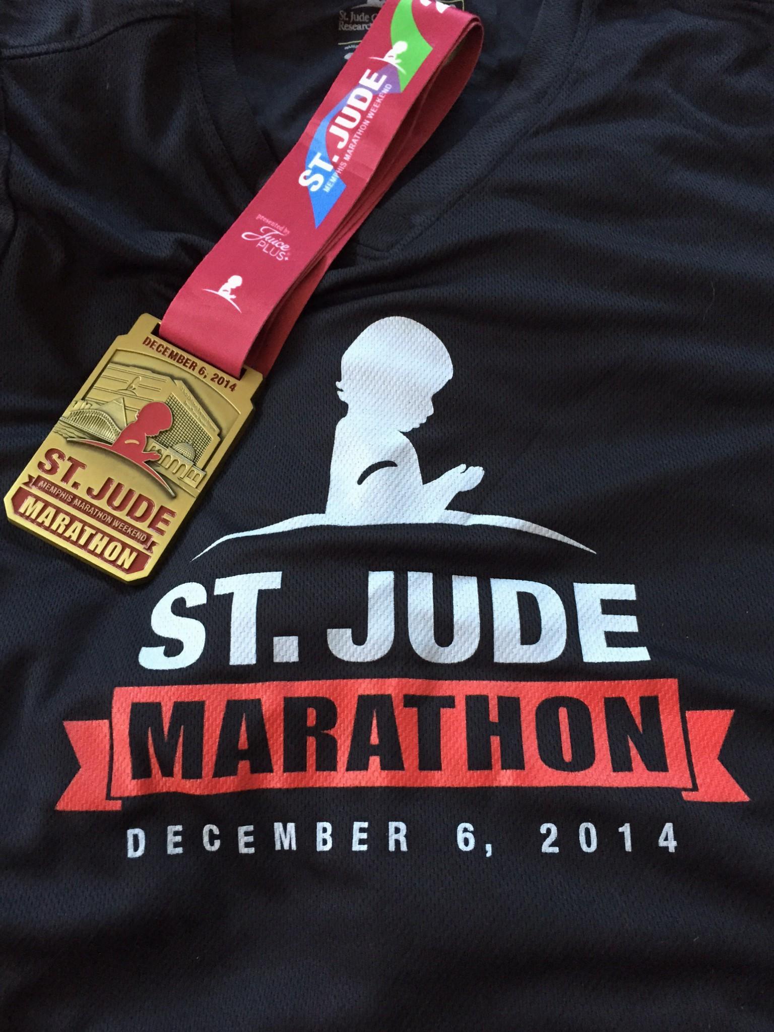 St jude memphis marathon race recap part 2 the race for St jude marathon shirts