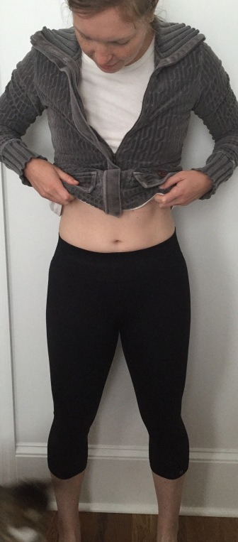brooks seamless crops review