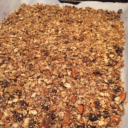 quinoa granola homemade